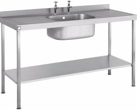 Sinks with Double Drainers