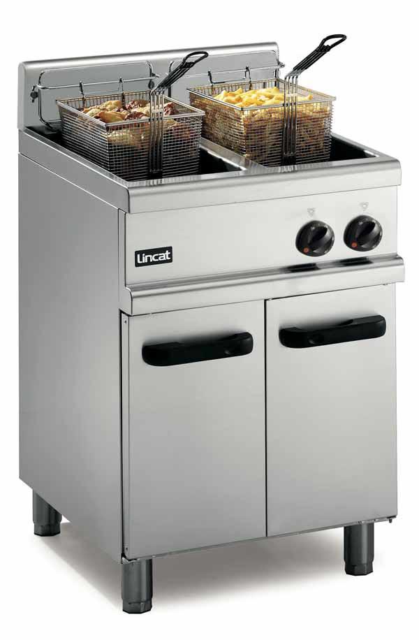 Fryers - Twin Bin