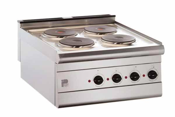 Boiling Tops, 4 Hobs