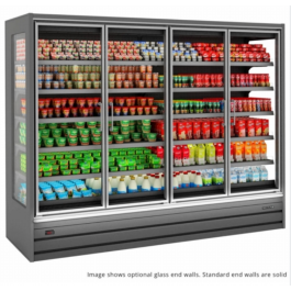 Tefcold Callisto CH187 Chilled Multideck with Glass Doors, Base & 5 Shelves