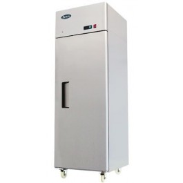 Atosa Mbf8116hd Stainless Steel Top Mounted Single Solid Door Gn2 1 Fridge