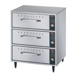 Hatco HDW-3 Freestanding Three Drawer Warmer