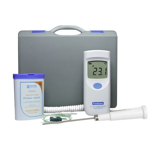 Hanna Instruments E3733 High Temperature K-Type Thermometer & Probe