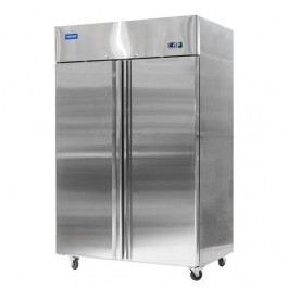 Arctica HED238 Heavy Duty Twin Upright Stainless Steel GN 2/1 Freezer