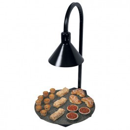 Hatco GRSSR-DL77516 Heated Stone Shelf & Decorative Lamp