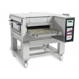 """Zanolli Synthesis 08/50V Gas 20"""" Automated Conveyor Pizza Oven + Stand"""