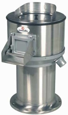 Metcalfe 56SS Stainless Steel High Pedestal Peeler
