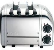 Dualit 21056 2 Slice Polished Sandwich Toaster