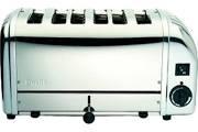 Dualit 61019 Polished 6 Slot Bun Toaster