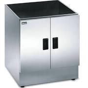 Lincat CC7 Silverlink 600 Ambient Open Top Pedestal With Doors
