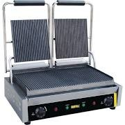 Buffalo DM902 Double Ribbed Contact Grill 3