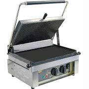Roller Grill Panini L Ribbed Top & Flat Base Contact Grill