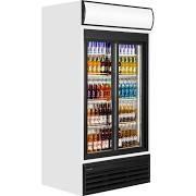 Tefcold FSC1000SP Double Sliding Glass Door Upright Refrigerator