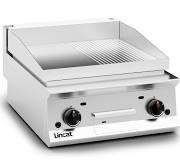Lincat OG8201/R Opus 800 Half Ribbed Steel Griddle