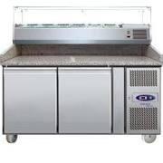 Tefcold PT1200 SS Gastro-Line 2 Door Counter Fridge