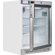 Tefcold UR200GB Glass Door Undercounter White Chiller