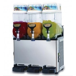 Blue Ice ST12x3 Stainless Steel Slush Machine - 3 x 12 Litres