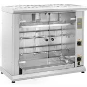 Roller Grill RBE80Q Electric Rotisserie with Display Shelf