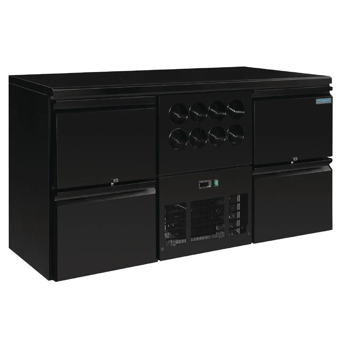 Polar GL457 U-Series Four Drawer Back Bar Counter and Wine Fridge