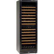 Tefcold TFW365-2 Black Wine Cooler with Glass Door & Dual Zones