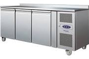 Tefcold CF7310P SS Three Door GN 1/1 Gastronorm Freezer Counter