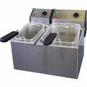 Roller Grill FD5080 Counter Top Twin Fryer