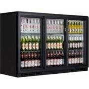 Tefcold BA30SP Black Back Bar Sliding Door Bottle Cooler