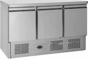 Tefcold SA1365 3 Door Counter Fridge 4