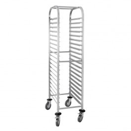 Vogue U376 Stainless Steel Gastronorm 1/1 Racking Trolley 20 Level