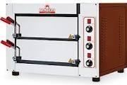 Italforni Fast50 Compact twin deck electric pizza oven 1