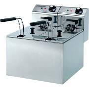 Maestrowave MDF55 Double Fryer - 2 x 3 Ltr