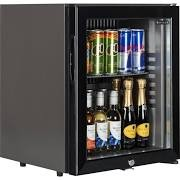 Tefcold TM32G Black Minibar with Glass Door