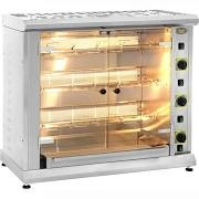Roller Grill RBG120 Gas Rotisserie with Display Shelf