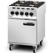 Lincat OD8006 Opus 800 4 Burner Dual Fuel Range