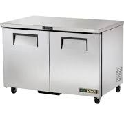 True TUC-48-HC Two Door Prep Counter Fridge