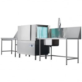 --- CLASSEQ CST130 --- Rack Conveyor Dishwasher with Air Gap