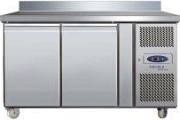 Tefcold CK7210B SS Two Door Gastronorm GN 1/1 Refrigerated Meat Counter