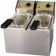 Roller Grill FD50D Double Countertop Fryer