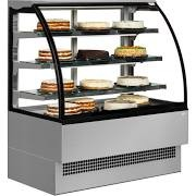 Interlevin Italia Range EVO1800 SS Stainless Steel Patisserie Display