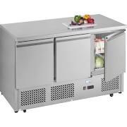 Interlevin ESL1365 3 Door Gastronorm Counter Fridge 3