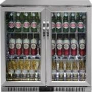 Polar GL008 Double Hinged Door Cooler with LED Lighting