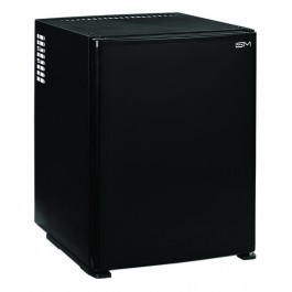 ISM SM301 Black Solid Door 30 Litre Minibar