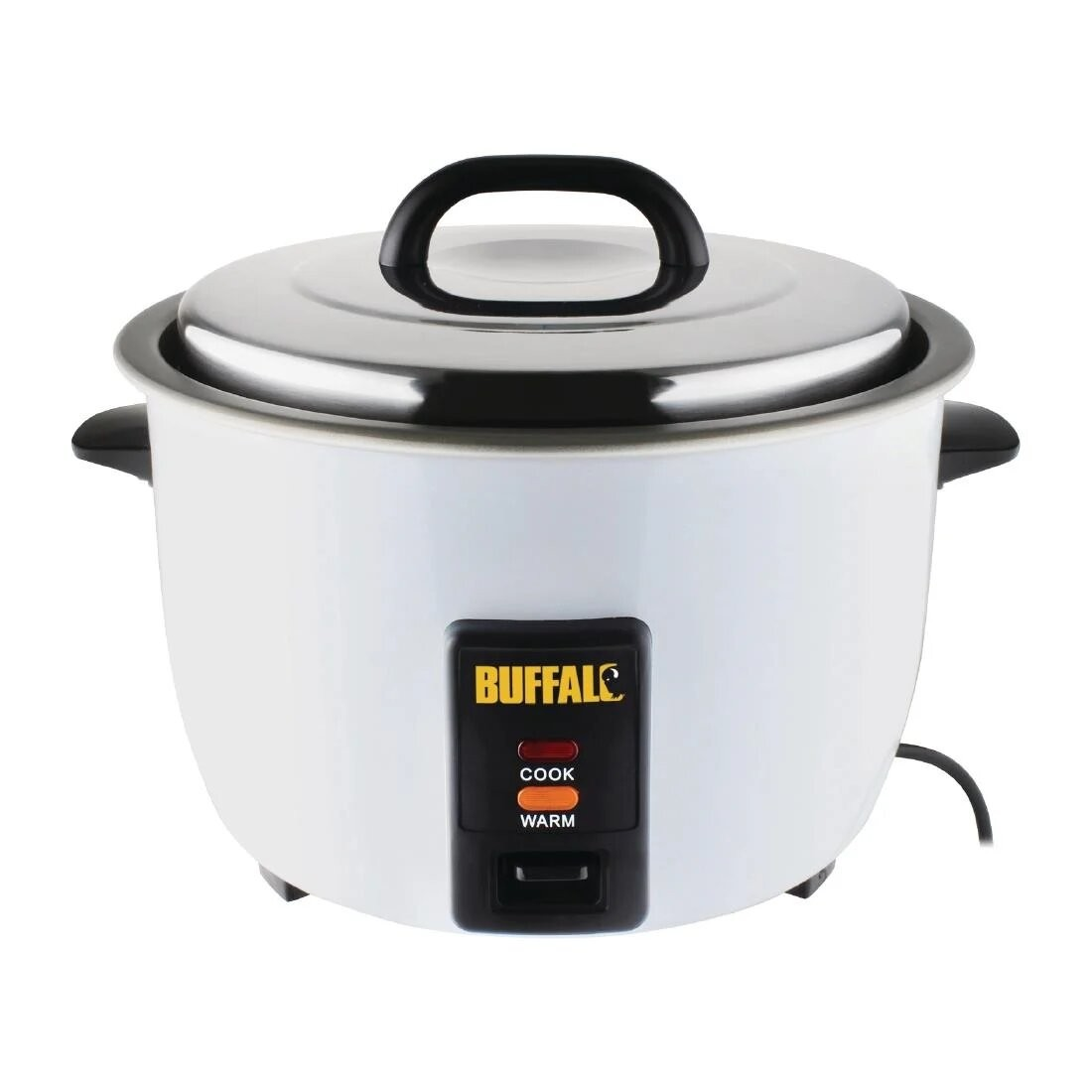 Buffalo CN324 Stainless Steel Non Stick Rice Cooker - 10 Litres