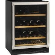 Tefcold TFW160S Black-SS Glass Door Wine Cooler