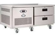 Foster LL2-1HDRW Two Drawer Low Level Meat Chill Counter