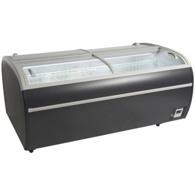 Arcaboa Dupla 2.2DE HC RAL7016 Header Case High Vision Freezer