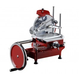 """FAC Volano LLK300VOL 12"""" Hand Operated Cooked Meat Slicer"""