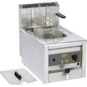 Roller Grill RFG12 Countertop Gas Fryer with Drain Tap