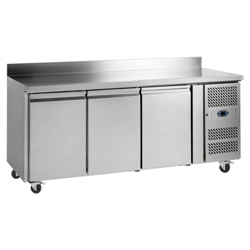 Tefcold CK7310 SS Three Door Gastronorm GN 1/1 Refrigerated Meat Counter