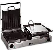 Lincat LPG2 Lynx 400 Ribbed Top & Bottom Double Panini Grill